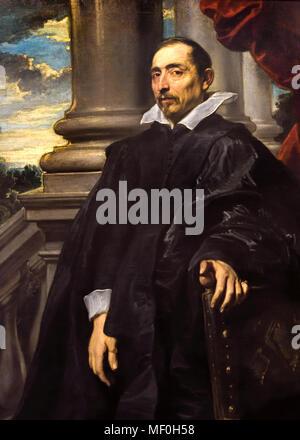 Portret of a Man 1620 Anthony van Dyck (1599–1641) Flemish Belgian Belgium - Stock Photo