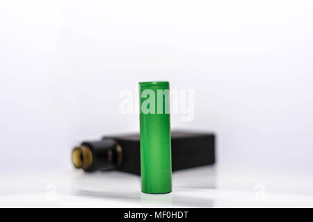 Personal Vaporizer with baterry, electronic cigarette - Stock Photo