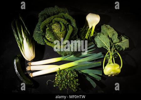 Various sorts of vegetables - Stock Photo