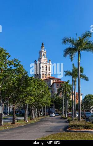 The Miami Biltmore Hotel, Coral Gable, Miami-Dade County, Florida, USA. - Stock Photo