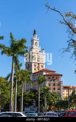 The Miami Biltmore Hotel, Coral Gable, Miami-Dade County, Florida, USA. - Stock Photo