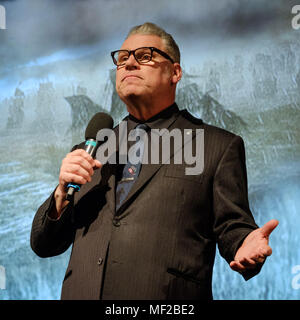 London, UK. 23rd April 2018. Mark Kermode presents Mark Kermode Live in 3D on Monday 23 April 2018 held at BFI Southbank, London. Pictured: Mark kermode. Picture by: Julie Edwards Credit: Julie Edwards/Alamy Live News - Stock Photo