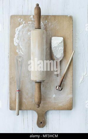 Baking utensils - Stock Photo