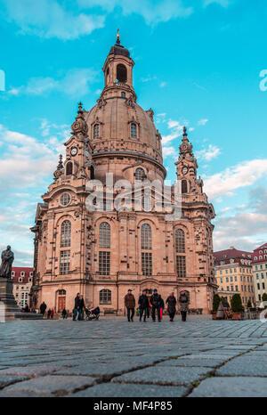 Frauenkirche, Dresden (germany) - Stock Photo