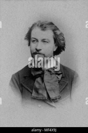 Portrait of Gustave Charpentier ( 1860 -1956 ) French composer  -  anonymous photography - Stock Photo