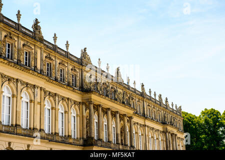 Herrenchiemsee Palace , one of the most famous castles and the largest of King Ludwig II. - Stock Photo
