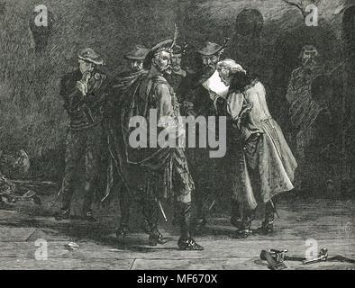 Jacobites, highlanders, The Jacobite rising of 1745 - Stock Photo