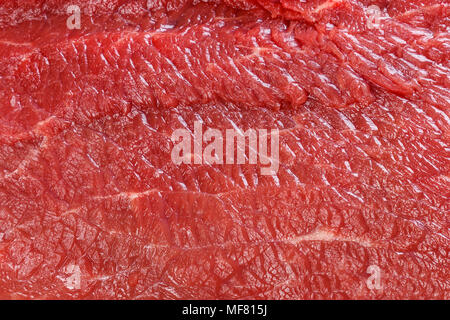 Raw red beef meat macro texture or background. - Stock Photo