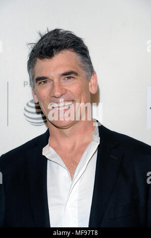 New York, USA. 24th April, 2018. NEW YORK, USA - APRIL 24: Actor Robert Farrior attends the 'Disobedience' premiere during the 2018 Tribeca Film Festival at BMCC Tribeca PAC on April 24, 2018 in New York City. Credit: Ron Adar/Alamy Live News - Stock Photo