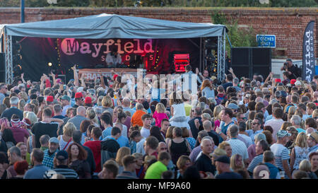 Craig Charles Performing on the Mayfield Studios Stage at at Victorious Festival 2017 - Stock Photo