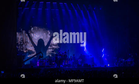 Stereophonics Headlining Saturday on the Main Stage at Victorious Festival 2017 - Stock Photo