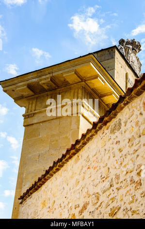 San Andres Gate, Segovia, Spain - Stock Photo