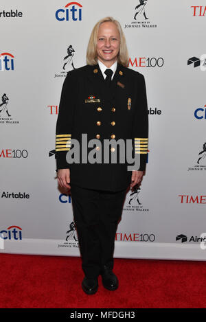 New York, USA. 24th Apr, 2018. Jan Rader attends the 2018 Time 100 Gala at Jazz at Lincoln Center on April 24, 2018 in New York City. Credit: Erik Pendzich/Alamy Live News - Stock Photo