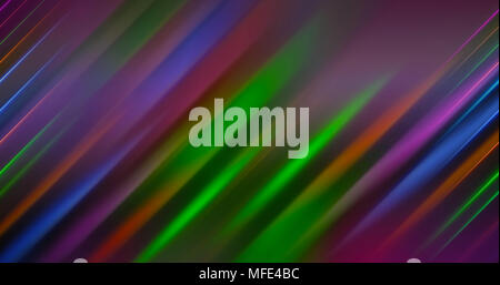 Abstract Light Lines Background - Stock Photo