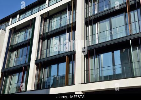 The Chilterns W1 luxury apartments, Marylebone, London, UK. - Stock Photo