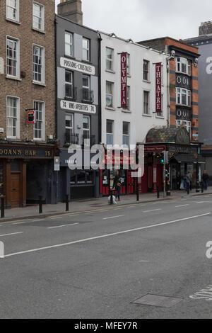 Olympia Theatre, Dame Street, Dublin, Ireland, Europe - Stock Photo