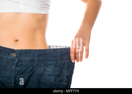 Weight loss and slimming - Stock Photo