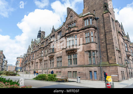 Coventry Council House which is Tudor-style and grade 2 listed which houses Coventry City Council in Earl Street, Coventry, UK - Stock Photo