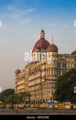 Taj Mahal Palace Hotel, Mumbai, Maharashtra, India, Asia - Stock Photo