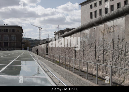 Berlin Wall, Germany - Stock Photo