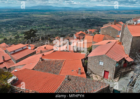 Monsanto village overview. Portugal - Stock Photo
