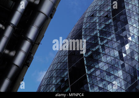 Low angle view of buildings   Ref: CRB422_10029_038  Compulsory Credit: RESPONSE PHOTOGRAPH / Photoshot - Stock Photo