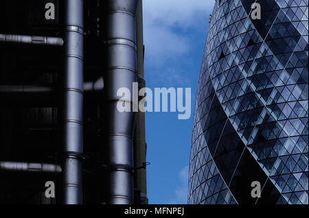 Low angle view of buildings   Ref: CRB422_10029_057  Compulsory Credit: RESPONSE PHOTOGRAPH / Photoshot - Stock Photo