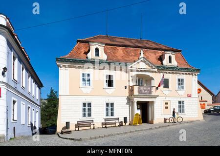 Muzeum zlata, Nový Knín, Středočeský kraj, Česká republika / Museum of gold, Novy Knin, Central Bohemian region, Czech republic - Stock Photo