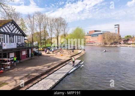 Stratford upon Avon, Warickshire, West Midlands. - Stock Photo