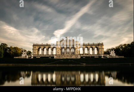 Gloriette Schonbrunn - Stock Photo