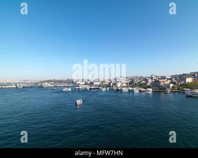Golden Horn Istanbul Bosphorus - Stock Photo