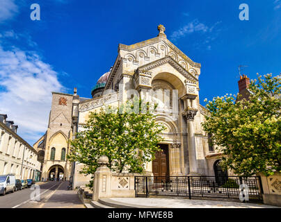 Basilica of St. Martin in Tours - France - Stock Photo