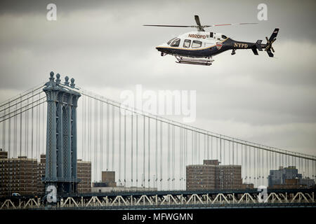 New York City Police helicopter Stock Photo: 100521535 - Alamy