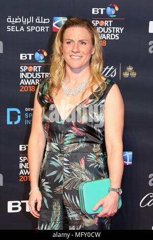 London, UK. 26th April, 2018. Danielle Waterman, BT Sport Industry Awards, Battersea Evolution, London UK, 26 April 2018, Photo by Richard Goldschmidt Credit: Rich Gold/Alamy Live News - Stock Photo