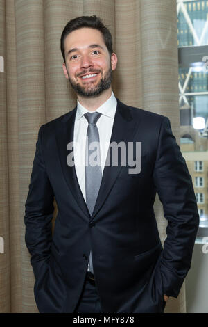 New York, United States. 25th Apr, 2018. Alexis Ohanian attends premiere HBO documentary Being Serena at Time Warner Center Credit: Lev Radin/Pacific Press/Alamy Live News - Stock Photo