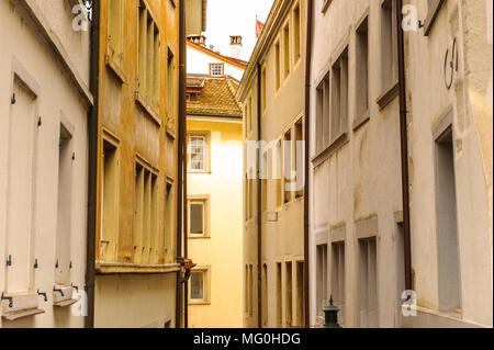Street in Zurich - Stock Photo