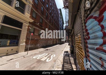 Cortlandt Alley New York City