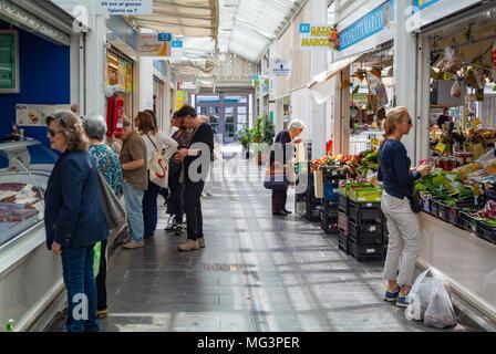 Nuovo Mercato di Testaccio, rome, italy - Stock Photo