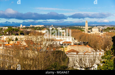 View of Montpellier - France, Languedoc-Roussillon - Stock Photo
