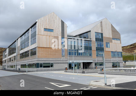 The new Anderson High School in Lerwick Shetland Islands - Stock Photo