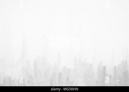 White Grunge Concrete Wall Texture Background. - Stock Photo