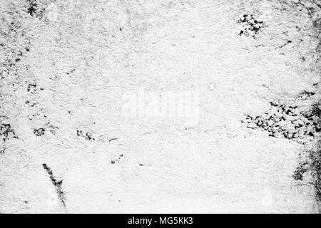 Old White Concrete Wall Texture Background. - Stock Photo