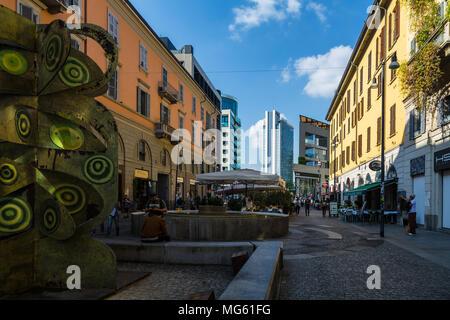 Corso Como, Milan, Italy - Stock Photo