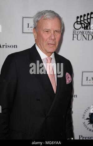 BAL HARBOUR, FL - NOVEMBER 10: Tom Brokaw attends Destination Fashion 2012 To Benefit The Buoniconti Fund To Cure Paralysis, the fundraising arm of The Miami Project to Cure Paralysis, on November 10, 2012 in Bal Harbour, Florida  People:  Tom Brokaw - Stock Photo