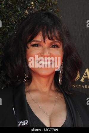 Pasadena, CA. 27th Apr, 2018. AnVictoria Rowell at arrivals for 45th Annual Daytime Creative Arts Emmy Awards, Pasadena Civic Center, Pasadena, CA April 27, 2018. Credit: Elizabeth Goodenough/Everett Collection/Alamy Live News - Stock Photo
