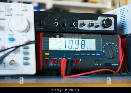Electronics laboratory. - Stock Photo
