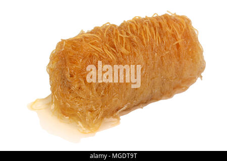 Traditional oriental dessert baklava with syrup - Stock Photo