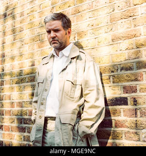 Singer songwriter Lloyd Cole, best known for his role as lead singer of Lloyd Cole and the Commotions from 1984 to 1989, Photographed in West London, 30th August 2006. - Stock Photo