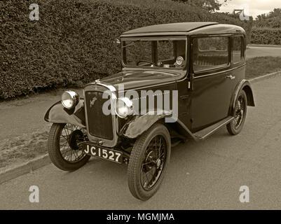 Austin Seven Motor Car JC1527 - Stock Photo