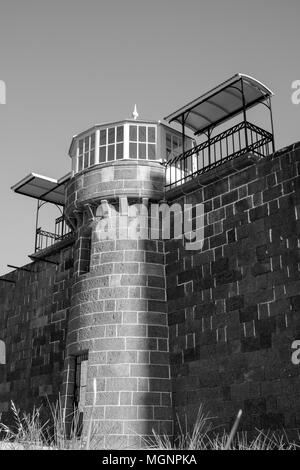 Pentridge Prison, Melbourne, Australia - Stock Photo